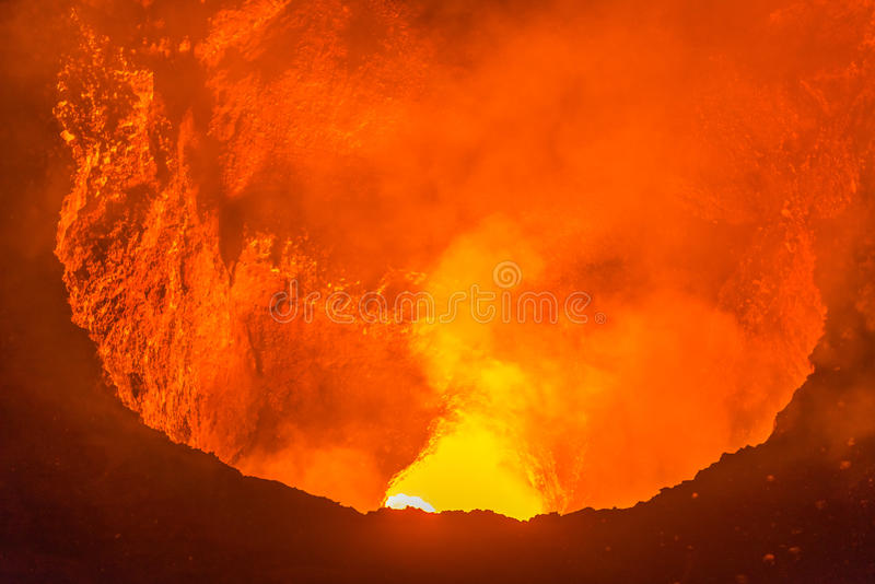 Masaya Volcano nahe Granada, Nicaragua stockfotos