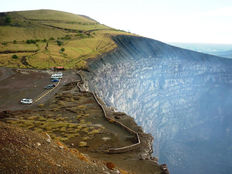 Masaya Volcano National Park image libre de droits