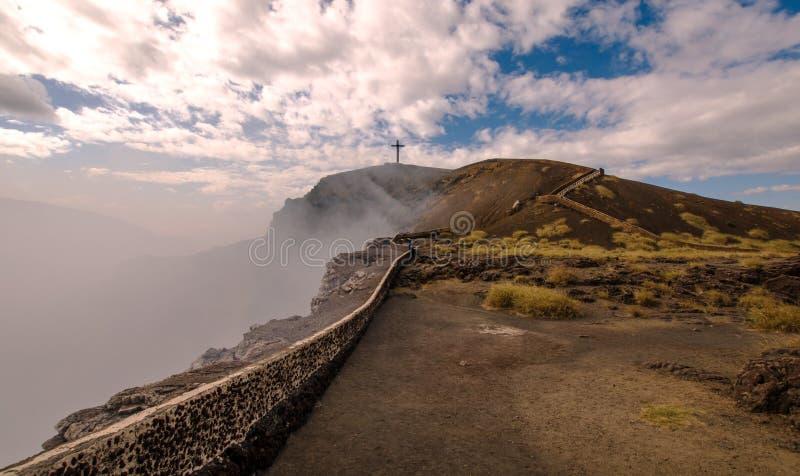 Masaya Volcano Nicaragua royaltyfria foton