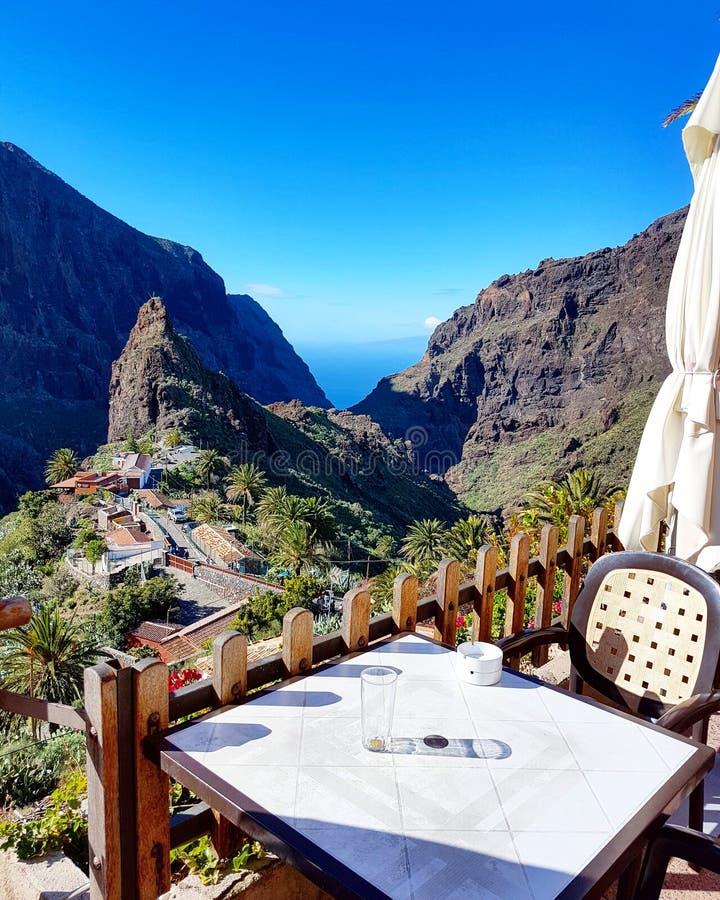 Masca Tenerife stock photo