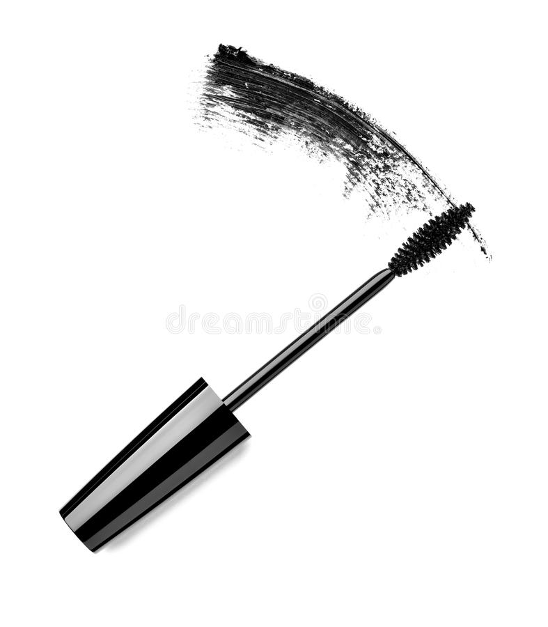 Mascara eyelash make up beauty cosmetics royalty free stock photography