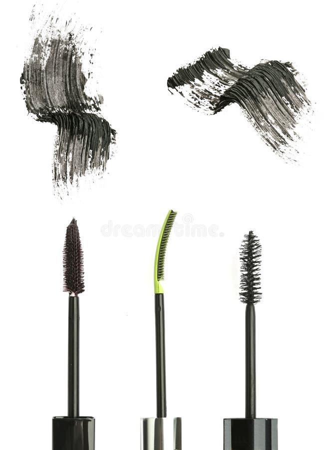 Mascara nera immagine stock