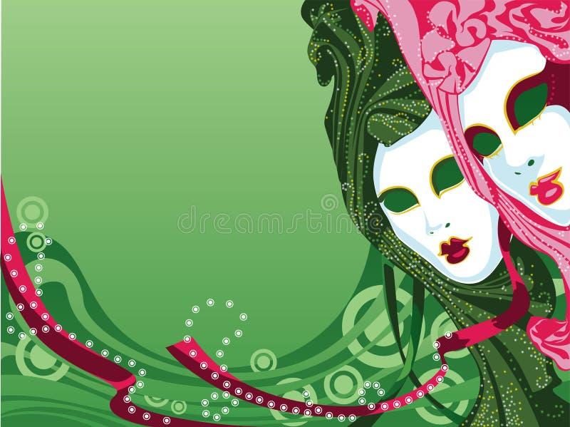 Mascarad stockbild