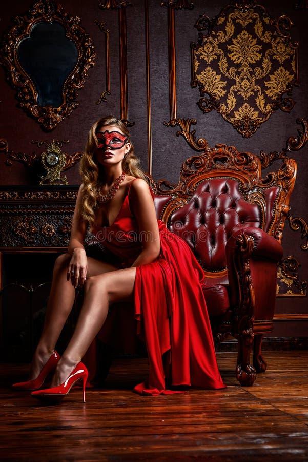 Mascarada del castillo foto de archivo libre de regalías