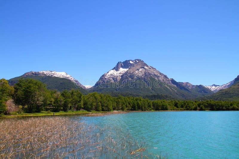 Mascardi湖-巴塔哥尼亚-阿根廷 免版税库存照片