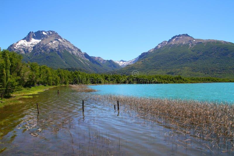 Mascardimeer - Patagonië - Argentinië stock fotografie