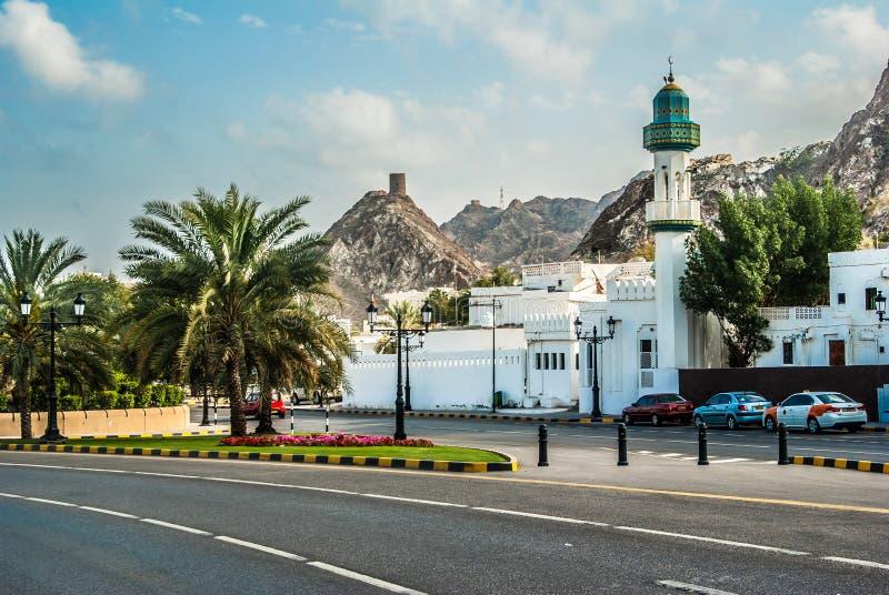 Mascat Oman arkivfoton