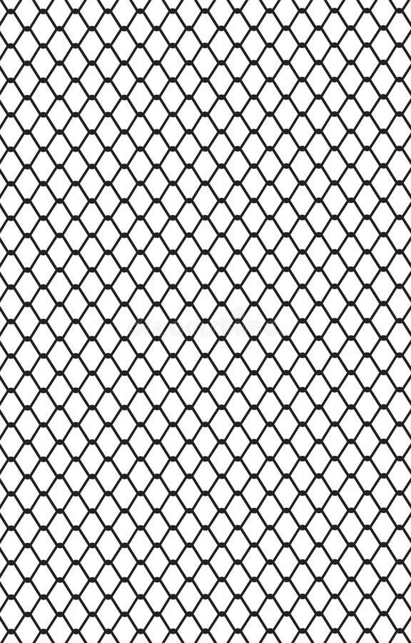 Maschendraht 2 vektor abbildung. Illustration von abgrenzung - 47300386