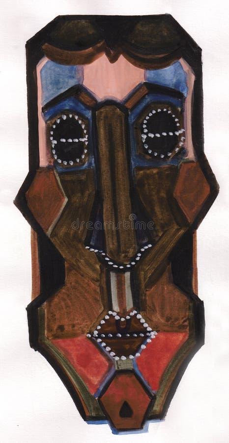 Download Maschera illustrazione di stock. Illustrazione di watercolor - 30830066