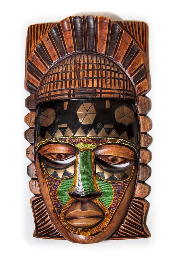 Maschera africana immagine stock