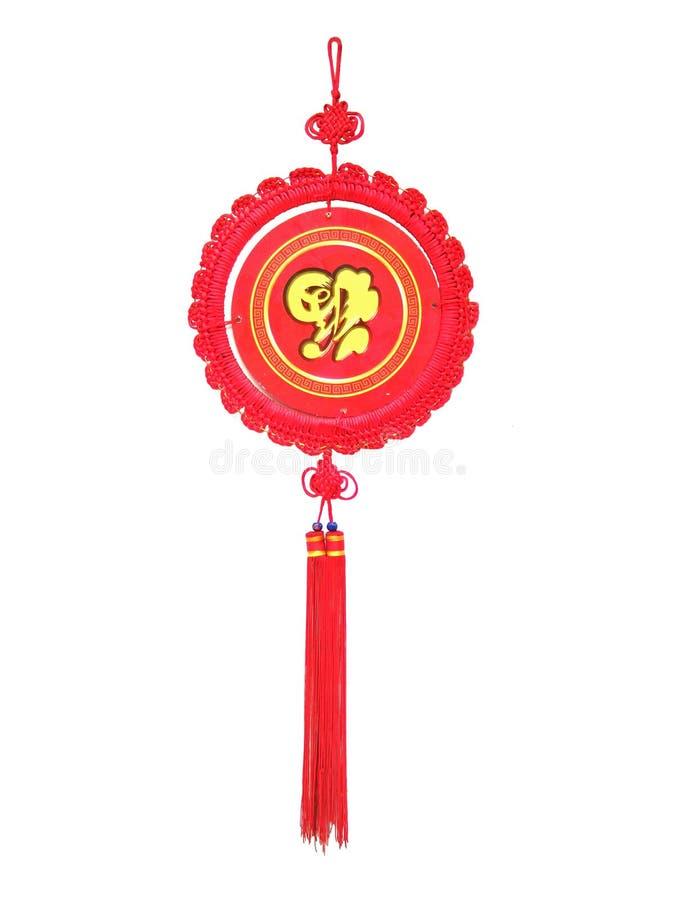 Maschera anno di nuovo e del nodo cinese immagini stock