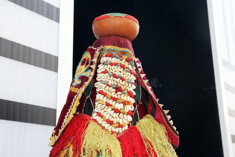 Maschera del Benin immagini stock libere da diritti