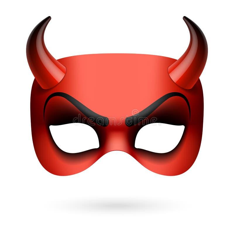 Maschera del diavolo royalty illustrazione gratis