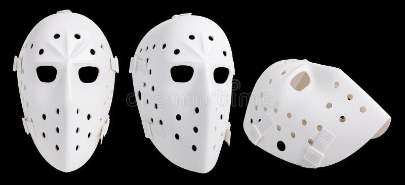 maschera dell'hockey fotografia stock