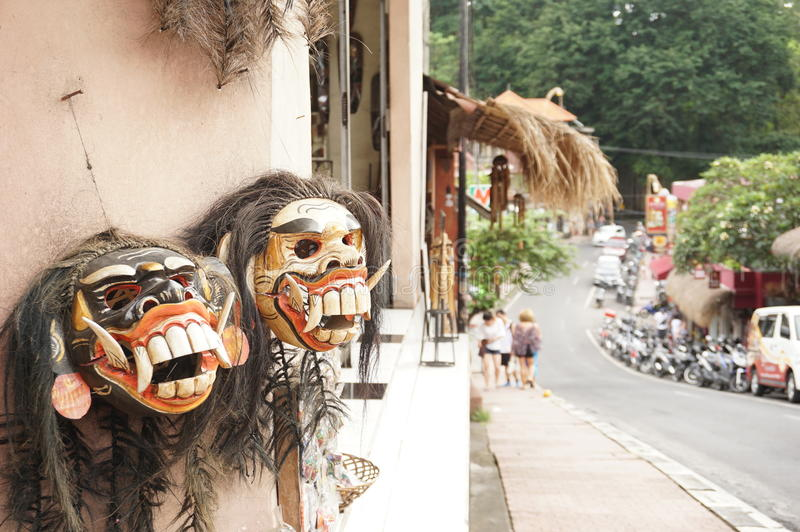 maschera di ฺà¸'Bali immagini stock