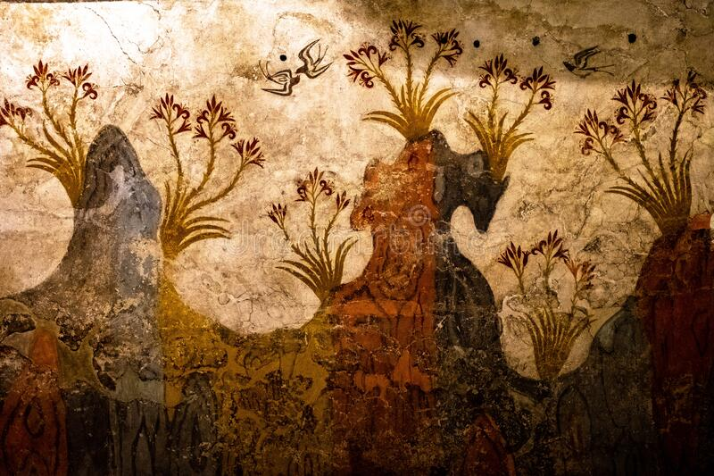 Maschera di Agamemnon immagini stock