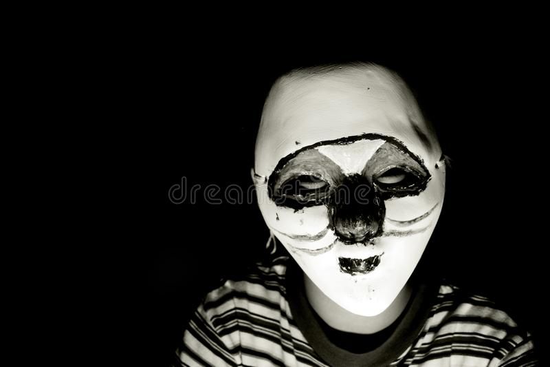 Maschera di Halloween fotografia stock libera da diritti
