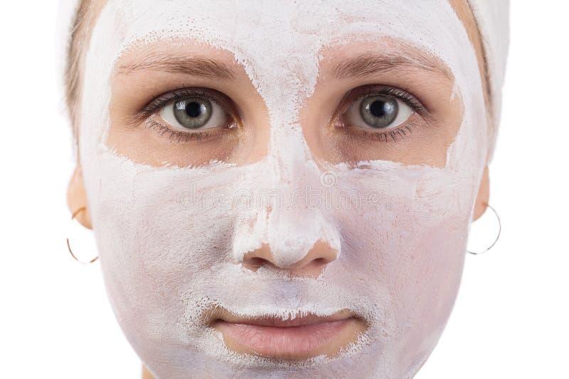 Maschera di protezione fotografia stock