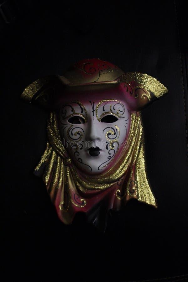 Maschera spaventosa terrificante immagini stock libere da diritti
