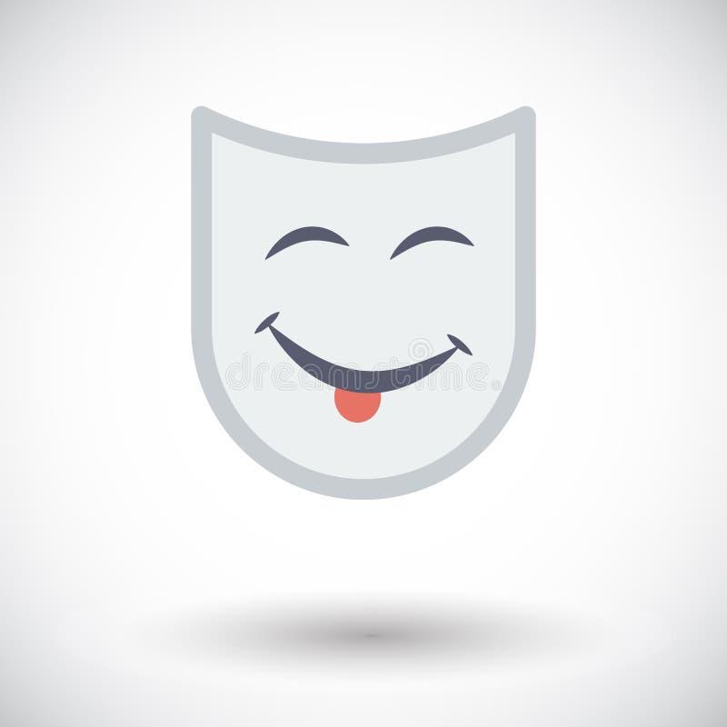 Maschera teatrale royalty illustrazione gratis