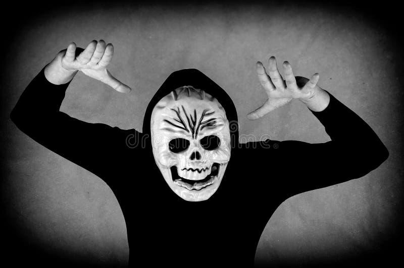 Maschera umana del cranio immagini stock libere da diritti