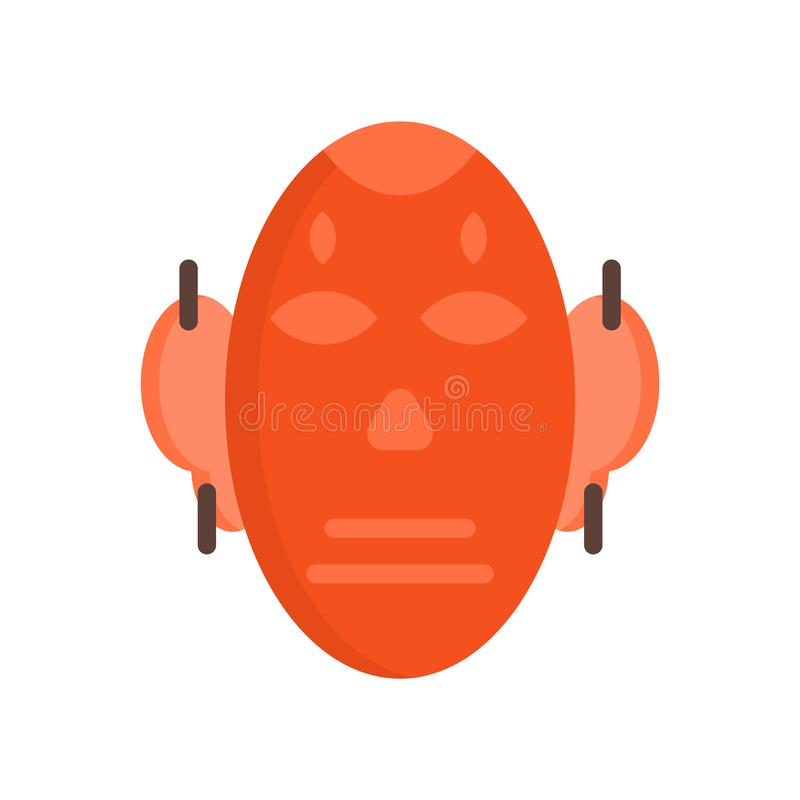 Mascheri il vettore dell'icona isolato su fondo bianco, segno della maschera illustrazione di stock