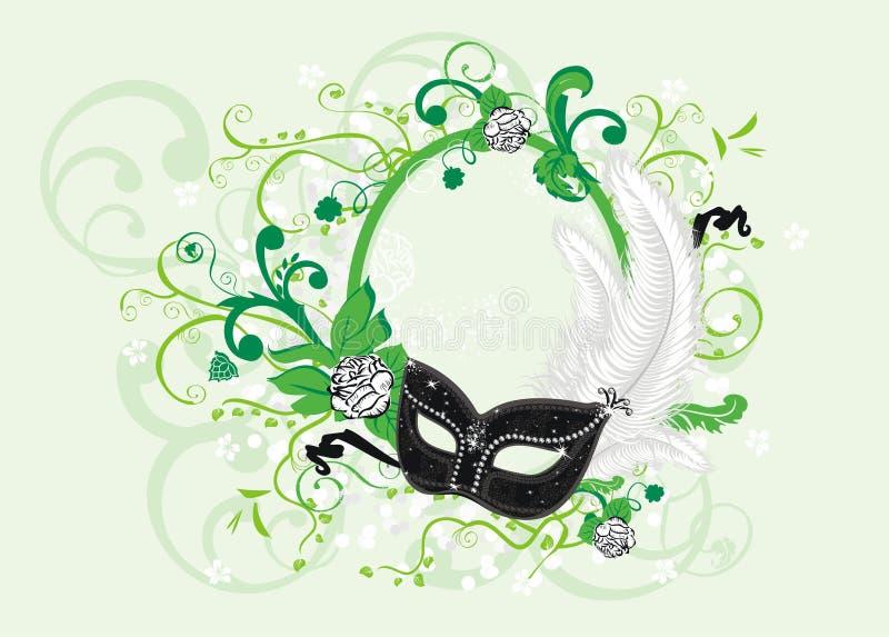 Mascherina royalty illustrazione gratis