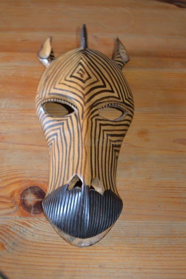 Mascherina africana fotografia stock