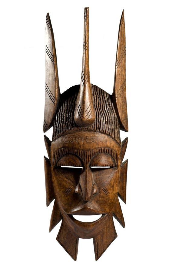 Mascherina africana fotografie stock