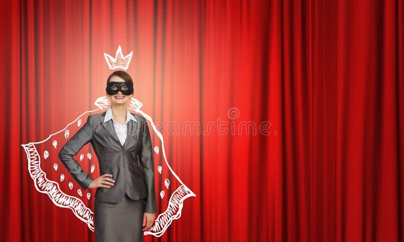 Mascherina da portare della donna immagine stock libera da diritti