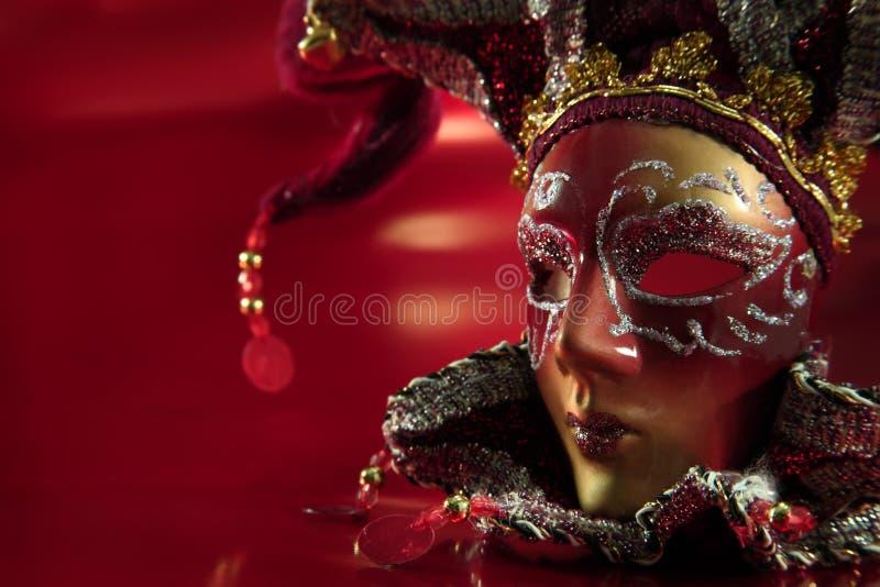 Mascherina decorata di carnevale immagini stock