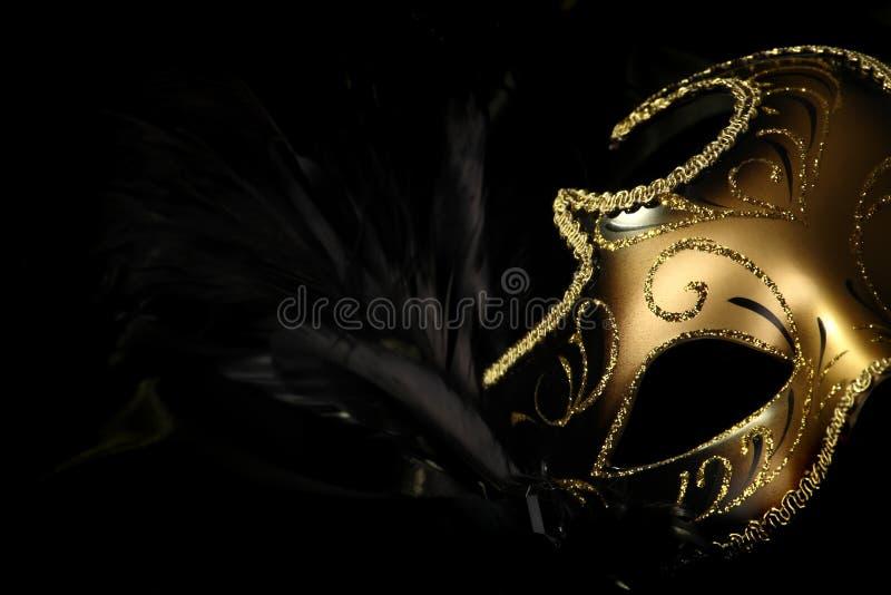 Mascherina decorata di carnevale immagine stock libera da diritti