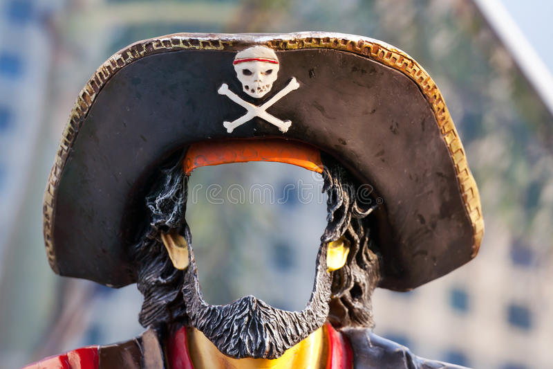 Mascherina del pirata immagini stock libere da diritti