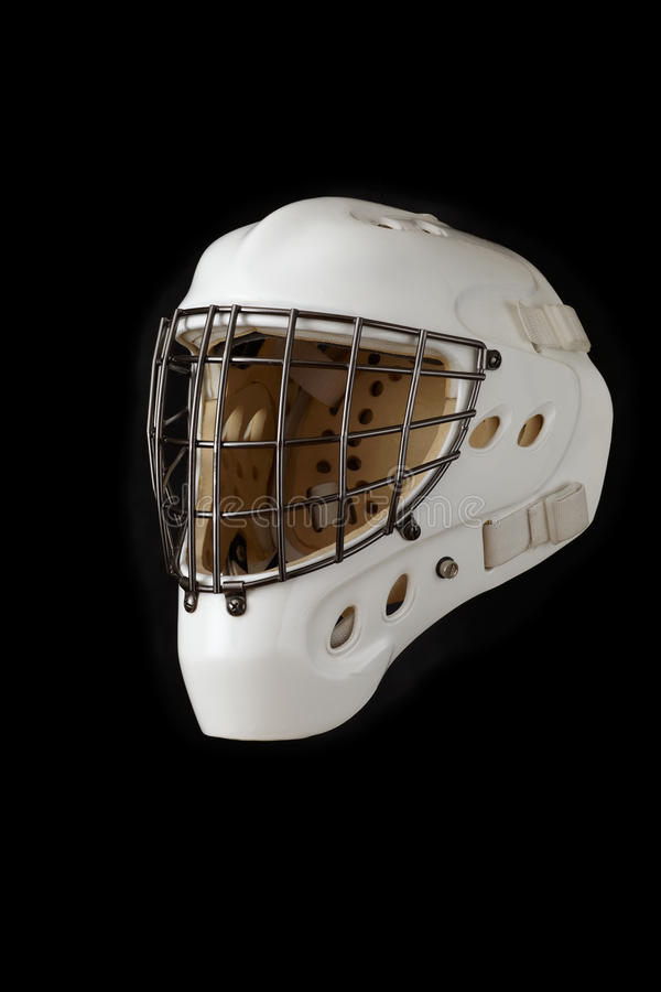 Mascherina del portiere del hokey fotografia stock libera da diritti