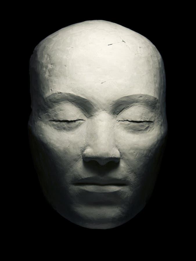 Mascherina dell'argilla immagine stock