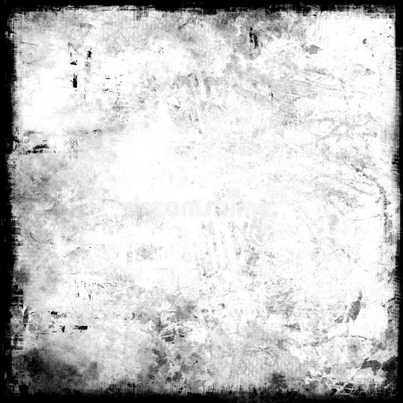 Mascherina dettagliata del grunge illustrazione vettoriale