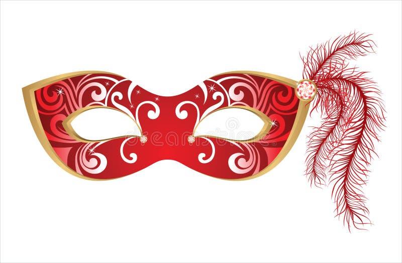 Mascherina di carnevale royalty illustrazione gratis