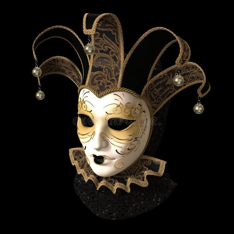 Mascherina di carnevale fotografie stock