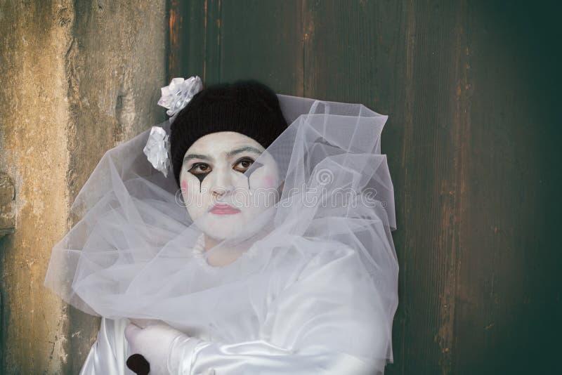 Mascherina di carnevale a Venezia fotografia stock libera da diritti