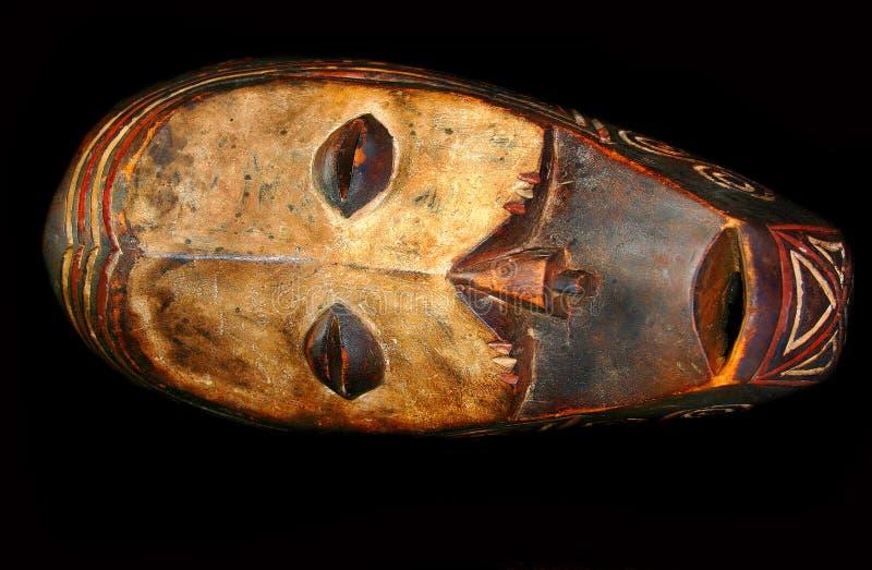 Mascherina di legno fotografie stock libere da diritti