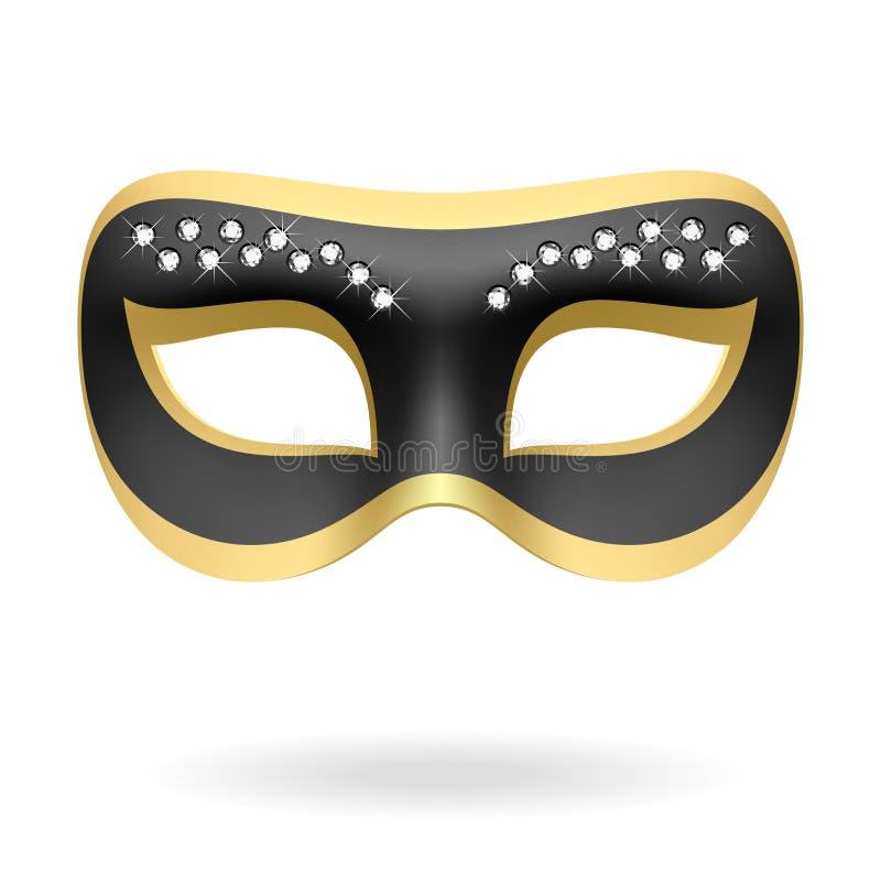 Mascherina di travestimento. Vettore. royalty illustrazione gratis