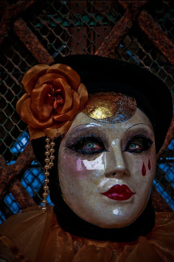 Mascherina di Venezia immagini stock libere da diritti