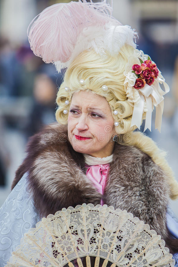 Mascherina di Venezia fotografie stock libere da diritti