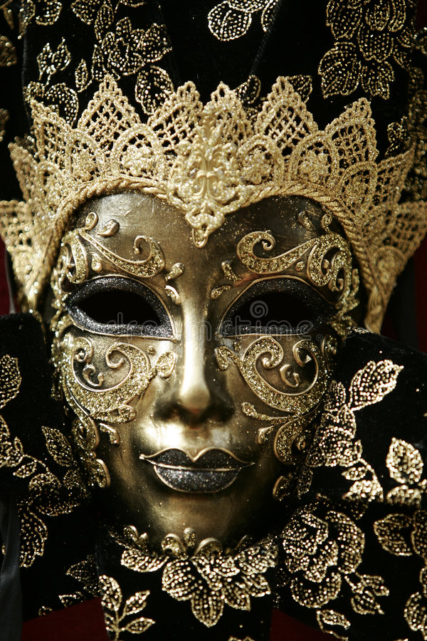 Mascherina lussuosa fotografie stock libere da diritti