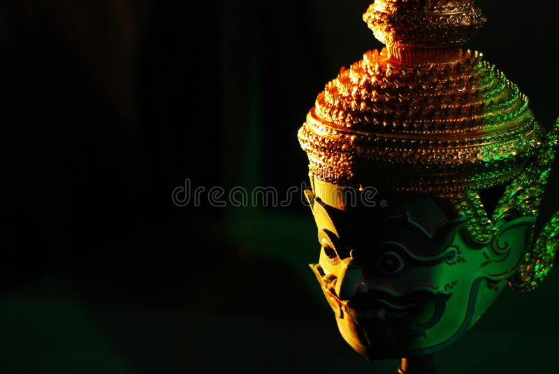 Mascherina in Tailandia immagine stock
