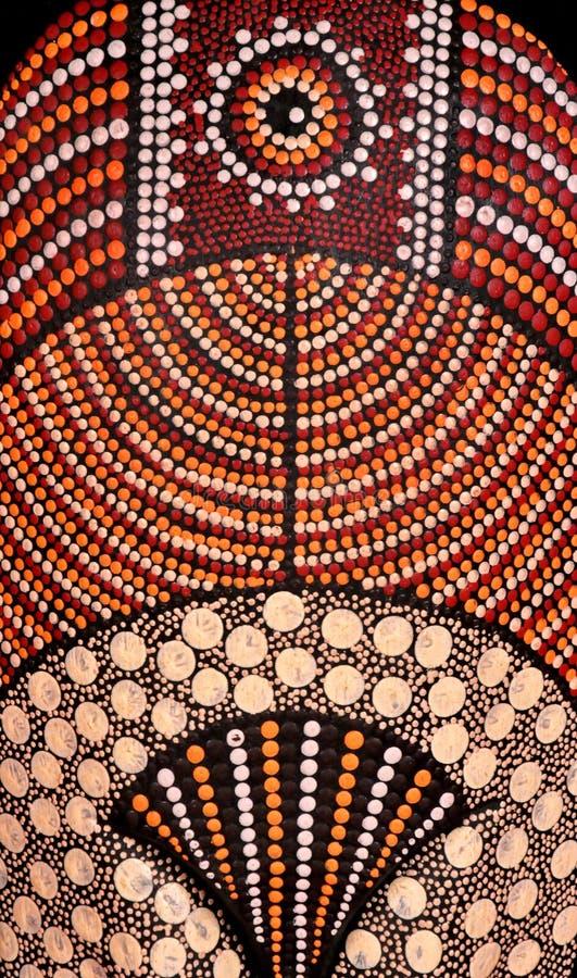 Mascherina tribale africana immagine stock