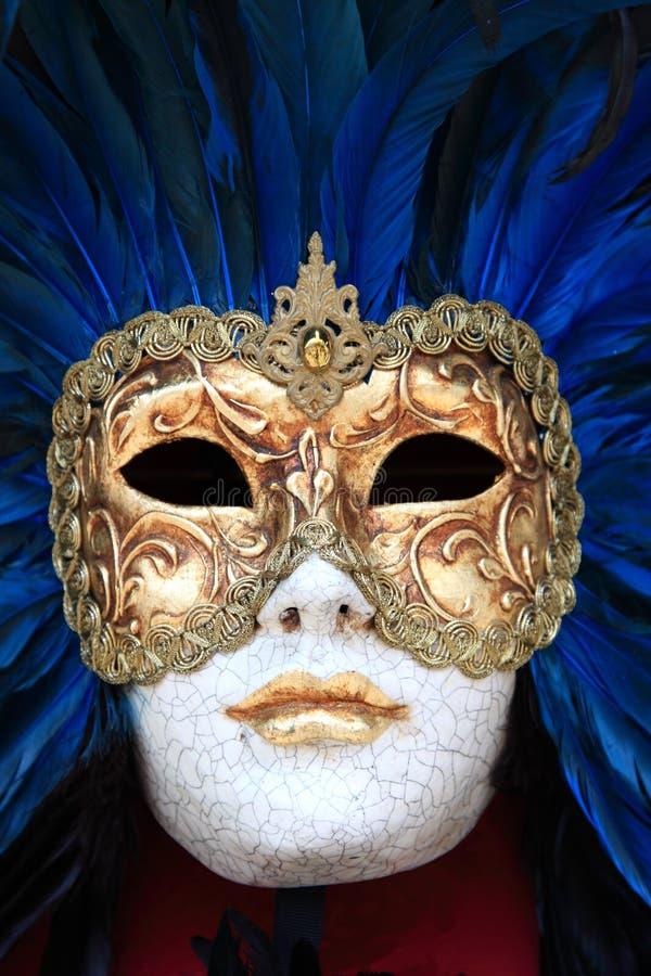 Mascherina variopinta tradizionale di Venezia immagine stock