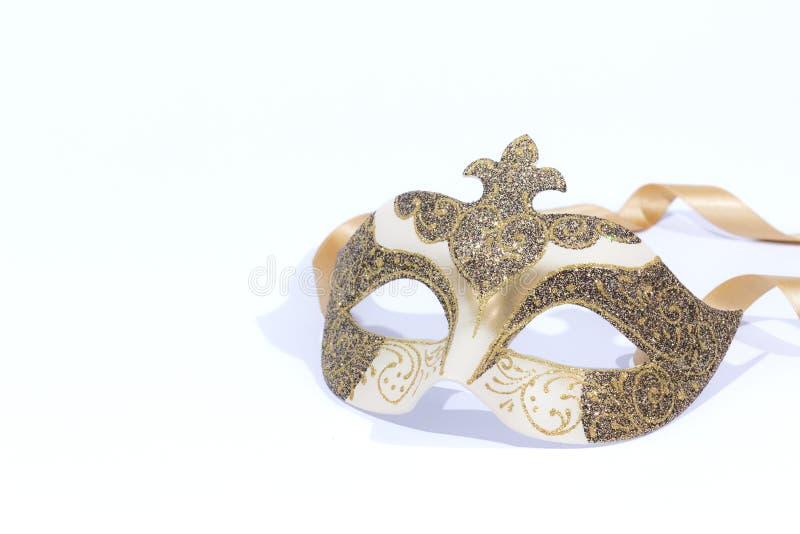 Mascherina veneziana di carnevale fotografia stock