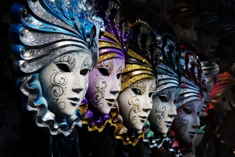 Mascherine veneziane fotografie stock