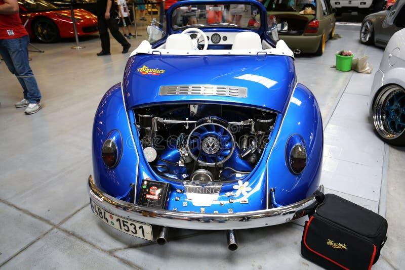 Maschine, die VW Cabrio abstimmt lizenzfreie stockbilder